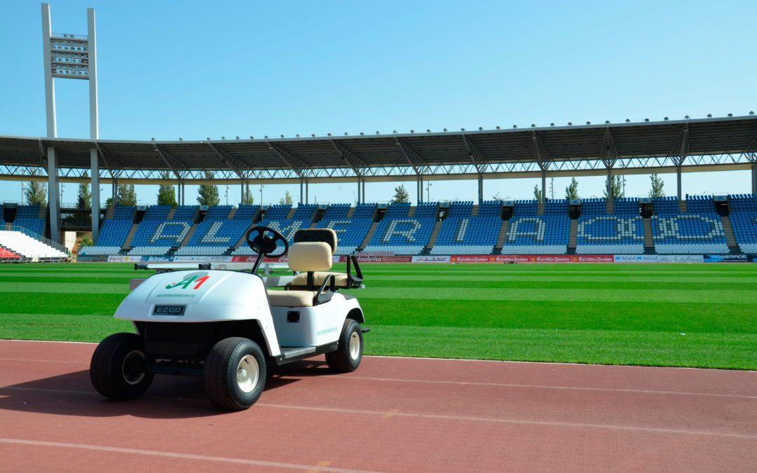 Ambulancias Quevedo da cobertura a la UD Almería